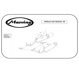 Marving EDR/59/NC Aprilia 650 Pegaso