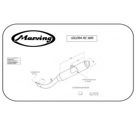 Marving EDR/50/NC Gilera Rc 600