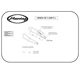 Marving H/5000/BC Honda Cbx 1000 Pro Link
