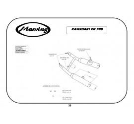 Marving K/2117/BC Kawasaki En 500