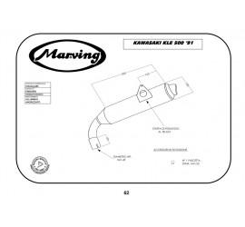 Marving K/AAA/53/BC Kawasaki Kle 500 91