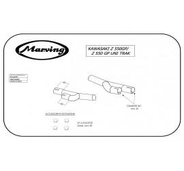 Marving K/2052/NC Kawasaki Z 550 Gp