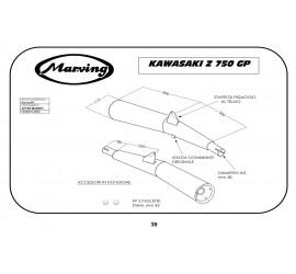 Marving K/2021/NC Kawasaki Z 750 Gp