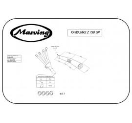 Marving K/3413/NC Kawasaki Z 750 Gp