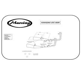 Marving K/5007/NC Kawasaki Gpz 900 R