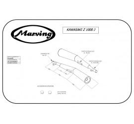 Marving K/2005/BC Kawasaki Z 1000 J