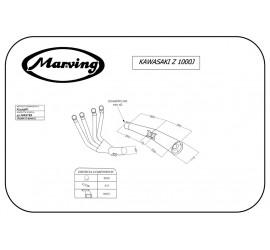 Marving K/3409/BC Kawasaki Z 1000 J