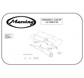 Marving K/2004/NC Kawasaki Z 1100 Gp I-ii