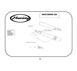 Marving M/2068/NC Moto Morini 350