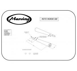 Marving M/2069/BC Moto Morini 500