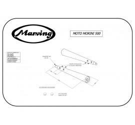 Marving M/2069/NC Moto Morini 500