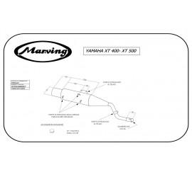 Marving EDR/10/V Yamaha Xt 400