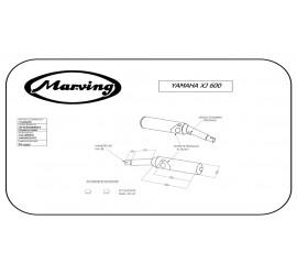 Marving Y/2083/NC Yamaha Xj 600