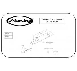 Marving Y/AAA/34/BC Yamaha XT 600