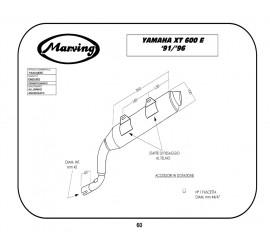Marving Y/AAA/58/BC Yamaha XT 600 E