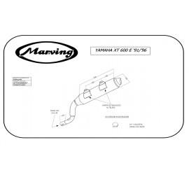 Marving EDR/27/NC Yamaha XT 600 E