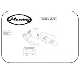 Marving Y/3600/BC Yamaha Xj 650