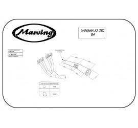 Marving Y/3609/BC Yamaha Xj 750