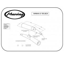 Marving Y/2014/BC Yamaha Xj 750 Seca