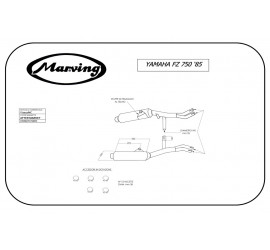 Marving Y/2027/NC Yamaha Fz 750