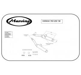 Marving Y/2151/BC Yamaha Trx 850