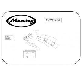 Marving Y/3607/BC Yamaha Xj 900