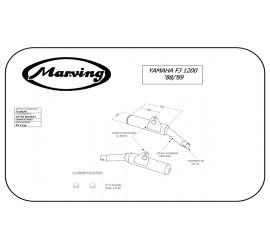 Marving Y/2085/NC Yamaha Fj 1200