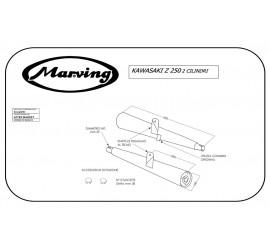 Marving K/2096/BC Kawasaki Z 250
