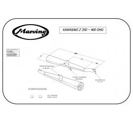 Marving K/2035/BC Kawasaki Z 350