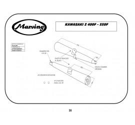 Marving K/2024/BC Kawasaki Z 400 F