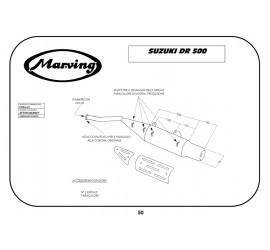 Marving EDR/12/V Honda Dr 500