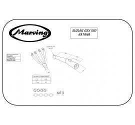 Marving S/3508/NC Suzuki Gsx 550 Katana