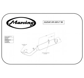 Marving S/AAA/57/BC Suzuki Dr 650 Se