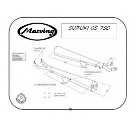 Marving S/2011/BC Suzuki Gs 750