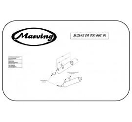 Marving S/AAA/450/BC Suzuki Dr 800 Big