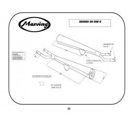 Marving S/2057/BC Suzuki Gs 850 G