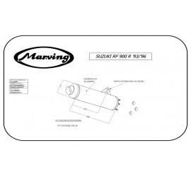 Marving S/2138/BC Suzuki Rf 900 R