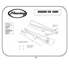Marving S/2040/BC Suzuki Gs 1000