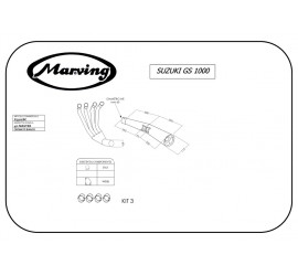 Marving S/3502/BC Suzuki Gs 1000