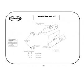 Marving H/AAA/62/BC Honda Slr 650