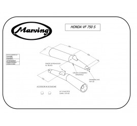 Marving H/2026/BC Honda Vf 750 S