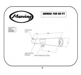 Marving H/122/BC Honda 750 Ss F1