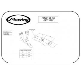 Marving H/3312/NC Honda Cb 1100 F