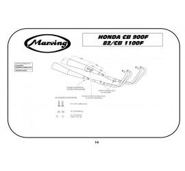 Marving H/5006/NC Honda Cb 1100 F