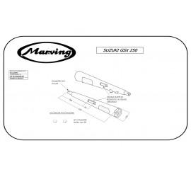 Marving S/2048/BC Suzuki Gsx 250