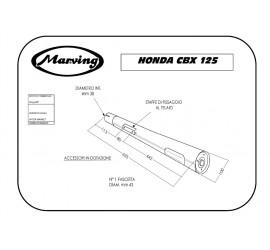 Marving H/130/BC Honda Cbx 125