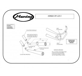 Marving H/2161/BC Honda Cm 125 C