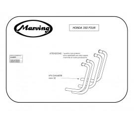 Marving H/2066/BC Honda Cb 350 Four