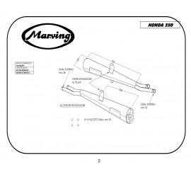 Marving H/2065/BC Honda Cb 350 Four