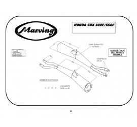 Marving H/2020/BC Honda Cbx 400 F